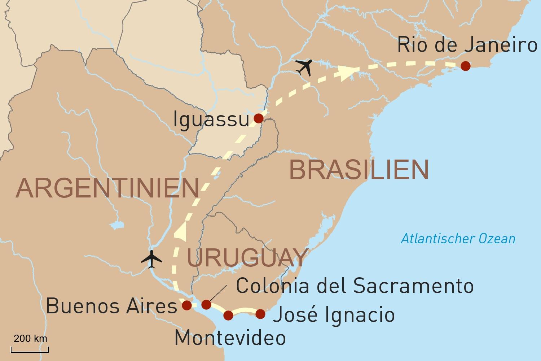 Südamerikas Glanzlichter luxuriös erleben