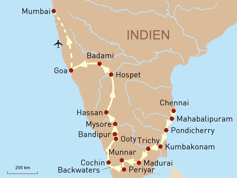 Südindien intensiv