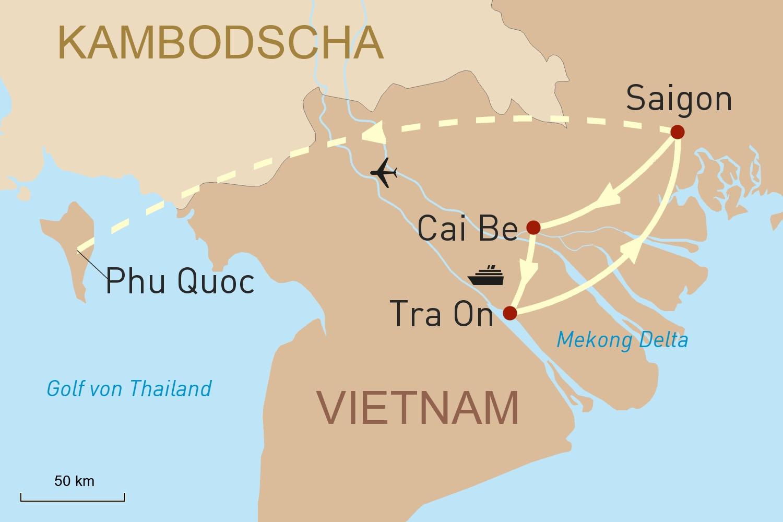 Südvietnam erleben und Baden auf Phu Quoc