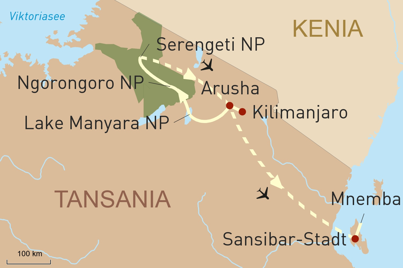Tansania Reise: Exklusives Safariabenteuer