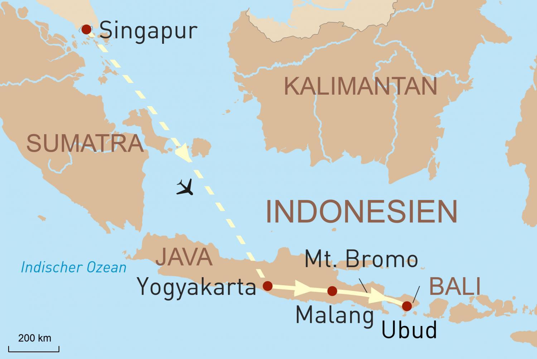 Traumhaftes Java & Bali