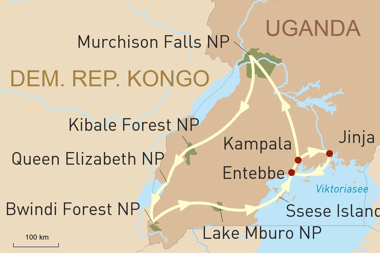 Uganda Rundreise Zu 3 National Parks Mit Geoplan Privatreisen