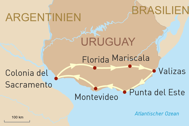 Unbekanntes Uruguay