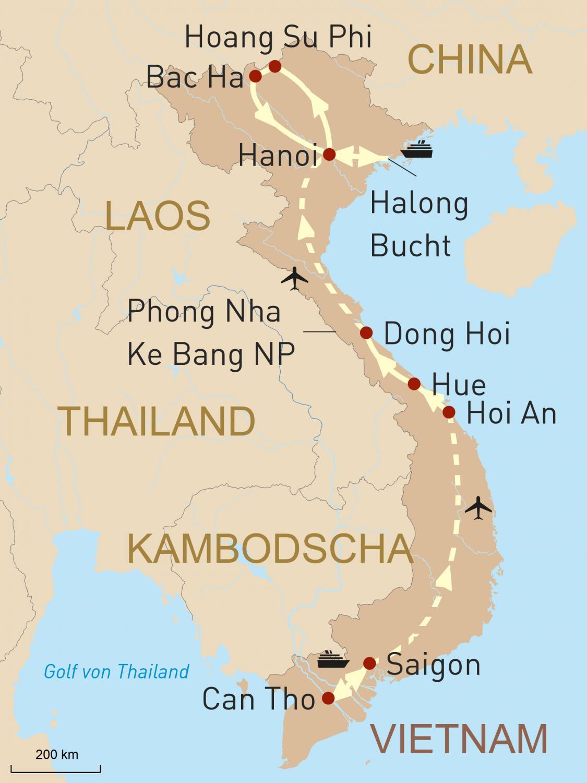 Vietnam Reise Intensiv