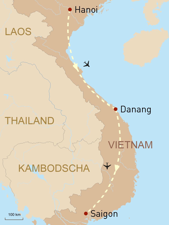 Vietnam Reise: Hanoi, Saigon und Danangs Traumstrände