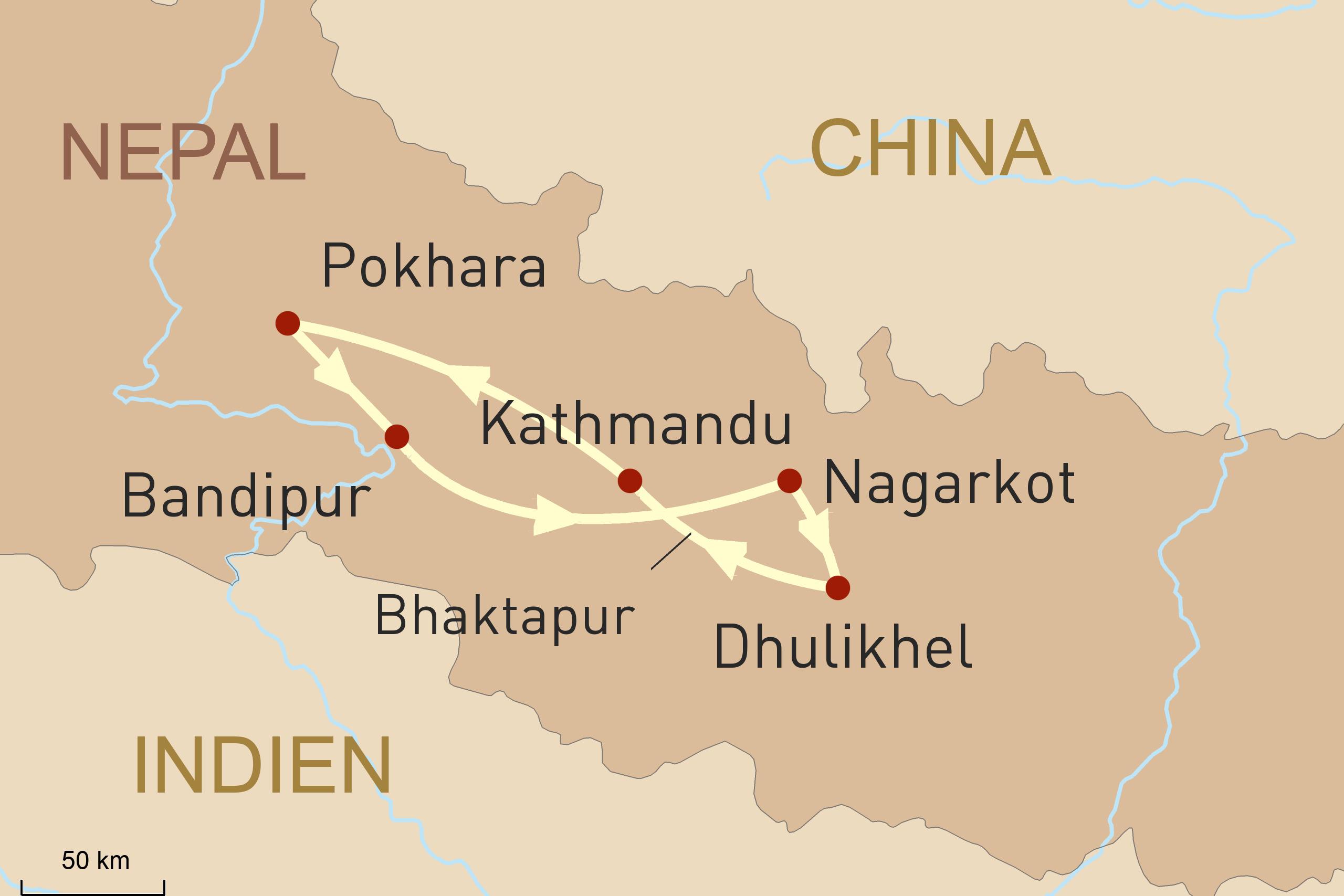 Wanderreise durch Nepal