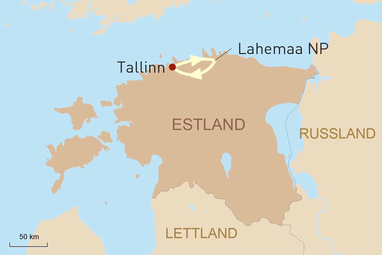 Estland Reise: Weiße Nächte in Estland