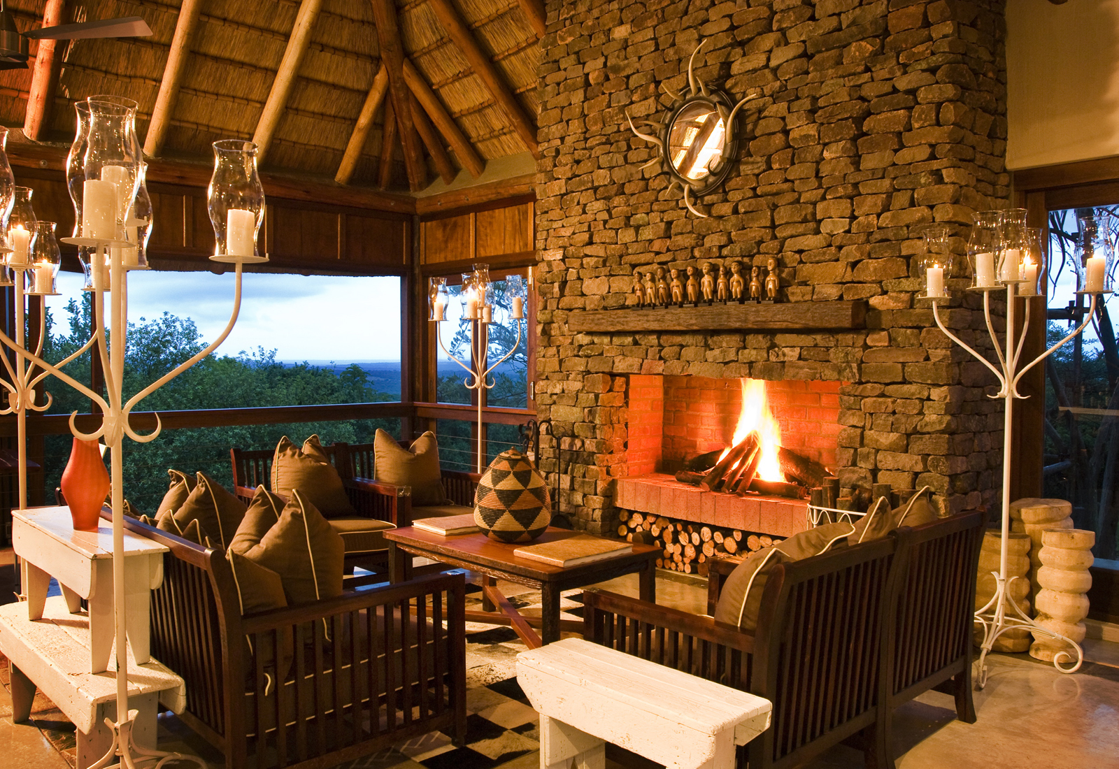 Beyond Phina Mountain Lodge im Phinda Private Gamer Reserve
