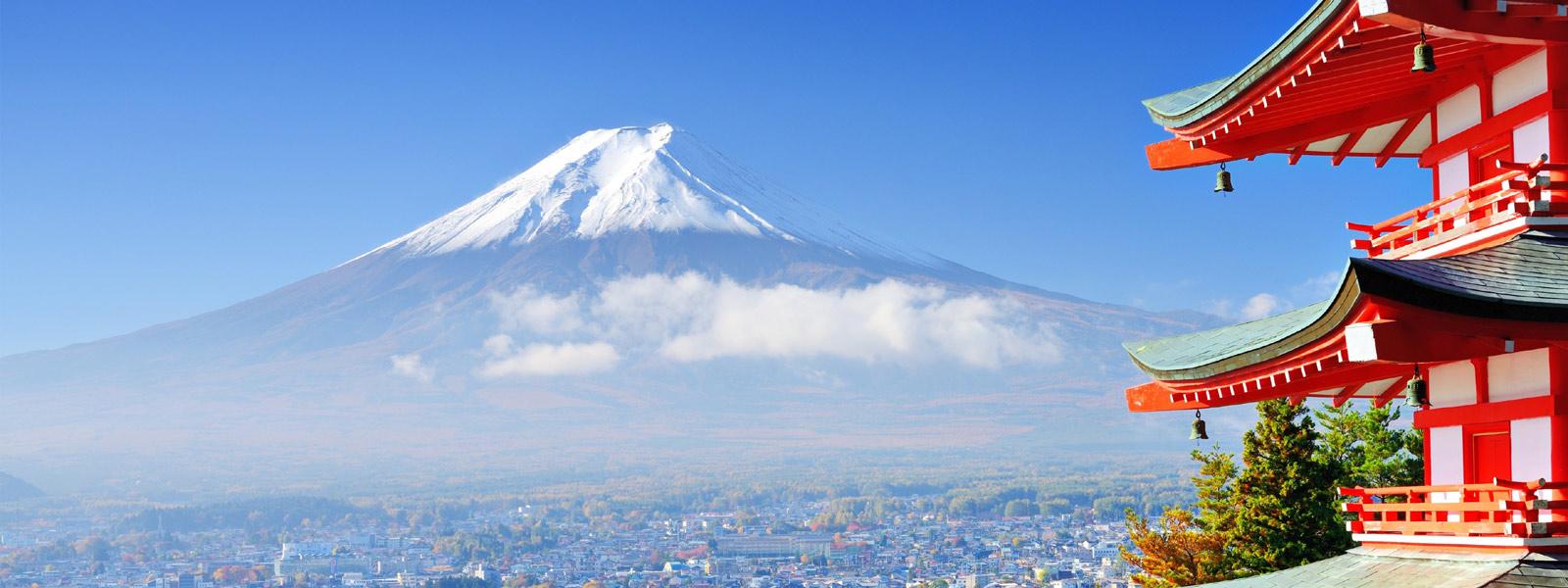 Japan, Tokyo mit Fuji
